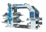 Roulis non tissé flexographique de tissu d'impression pour rouler la machine