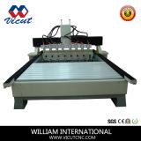 回転式CNCのルーター(VCT-2025FR-2Z-8H)を作る回転式ルーターの木製のクラフト