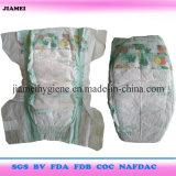 Supa Santi China Wegwerffabrik-Preis-Baby-Windeln für Ghana