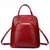College Students를 위한 형식 PU Lady Leather Backpack