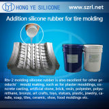 Platino Cure Silicone per Tyre Mold Making