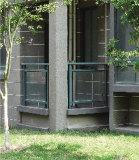 Barandilla de cristal del balcón (pago del OA aceptado)