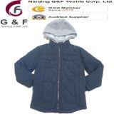 子供ポリエステルフードのウォーマーの冬のジャケット