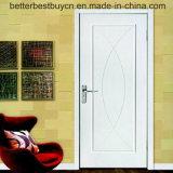 Porta interior modelo de venda quente da madeira do PVC da madeira