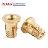 Garnitures intérieures moletées en laiton d'expansion de Bollhoff Nuts