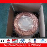 Câmara de ar de cobre da bobina da panqueca da embalagem da caixa da alta qualidade para a C.A.