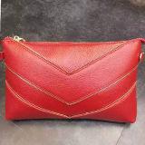 La promozione del cuoio genuino di prezzi di fabbrica della signora Clutch Purse Handbags insacca Emg4580