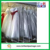 Saco do vestido de PEVA/tampa saco de vestuário/vestido de casamento