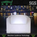 Sofá de la barra del salón del LED