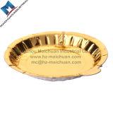 Lamellierter Goldpappgrauer Kuchen-Vorstand