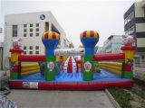 等のための膨脹可能な幼児跳躍、警備員、スライダ上昇、障害、