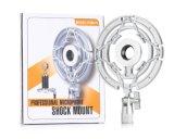 """T-2 universal para los micrófonos del diámetro de 21m m (0.82 """") - ideal para el estudio de difusión de radio/el estudio de la voz superpuesta/de los sonidos/el montaje de choque del micrófono de la grabación"""