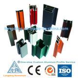 Profil en aluminium de prix usine pour le tube de pipe de /Aluminium utilisé par industrie
