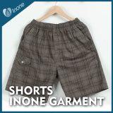 Inone 068 Mens nada Shorts ocasionais da placa das calças curtas