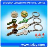 Customied Keychain Metal Keychain Manufacturer con Free Design
