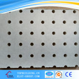 穴があいたPVC Gypsum Ceiling Tiles /Perforated Ceiling Board Tile 595*595*9mm