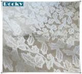 Merletto francese del vestito dal merletto dei tessuti del merletto delle foglie di acero per la cerimonia nuziale