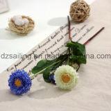 Цветок маргаритки 2 головок искусственний для украшения дома/венчания (SF15028)