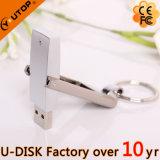 1-256GB quente USB de giro Pendrive do metal de 360 graus (YT-1209L)