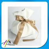 Мешок мешка подарка ювелирных изделий упаковывая с изготовленный на заказ печатание логоса