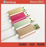 iPhone 섬광 드라이브 비용을 부과 케이블을%s USB3.0 섬광 드라이브와