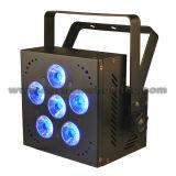 IGUALDAD sin hilos 6X10W RGBWA 5 in-1 de la batería LED