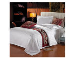 100%년 면 또는 Jacquard/Satin Stripe Hotel/Home Bedding Set