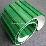 Cleats van pvc van de helling de Groene Transportband van de Fabrikant van Gidsen