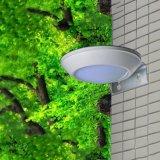 Lumière solaire imperméable à l'eau de mur du détecteur de mouvement de radar à micro-ondes de 16 DEL DEL