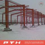 Structure métallique bien projetée personnalisée pour l'entrepôt
