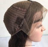 613# Gluelessの大きい帽子の黒人女性のブラジルの毛の完全なレース
