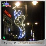 luz ao ar livre decorativa da decoração do Natal de pólos de iluminação de 200*80cm