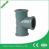 Acoplamento rápido da compressão dos encaixes de tubulação do PVC do material de construção da fonte