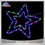 White Window Night Christmas Flash Party Decoração LED Star Light