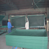 Barrier de acero Made por Galvanized y Painted Square Tube