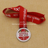 2015年の昇進Custom Reachマンズフィールド10k Marathon Medal
