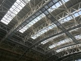 GymのためのAl MgMn Panel Roof Steel Structure Truss