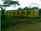 Светлая стальная дом в проекте Африка (CILC)