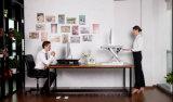 A altura ergonómica da mola de gás do escritório ajustável Sentar-Está a estação de trabalho Desktop para a mobília da tabela