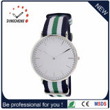 ファッション・ウォッチの水晶は見るステンレス鋼の腕時計の水晶人(DC-1056)を