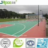Cancha de baloncesto al aire libre del certificado del CE Material de solado