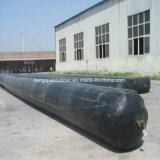 排水渠の型枠の作成のための膨脹可能なゴム製気球