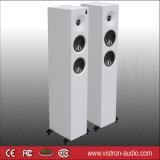 가정 입체 음향 4.5 인치 HiFi 탑 키 큰 지면 서 있는 스피커 50X2 와트 검정 2 저음 스피커
