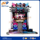 Máquina feliz da dança da venda quente com luzes do diodo emissor de luz e vários tipos das danças
