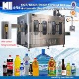 Línea de etiquetado mineral primaria de la máquina de la película del encogimiento de la máquina de rellenar del sistema de tratamiento de aguas