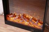 Los muebles eléctricos LED del hotel de la chimenea del MDF encienden la base (T-303)
