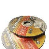 type plat de 115*3*22.2mm roue de découpage de disque de coupure pour le métal