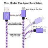 マイクロUSBケーブル2Aの速い料金の耐久の高速USB 2.0マイクロB同期信号への男性およびアンドロイドのSamsungのための充満データケーブル