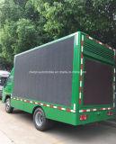 4X2 venta caliente LED que hace publicidad del carro al aire libre de la visualización del vehículo 70kw