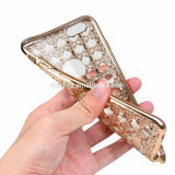 OEM TPU avec la caisse de diamant pour l'iPhone 5 6 6plus